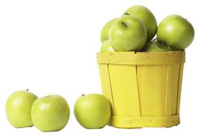 The popular Granny Smith apple originated in Australia but wasn't introduced to the U.S. until about 100 years later, in the 1970s.