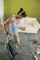 Vacuuming is part of light and deep house cleaning.