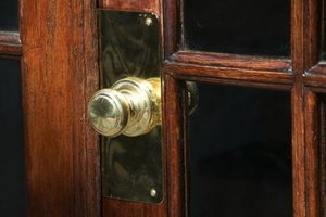 Restoring brass doorknobs is a quick way to add a touch of class to a home.