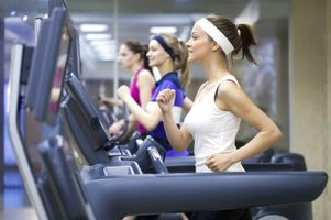 You'll likely have company in a health club's treadmill section.