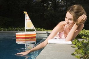 Make a foam boat that you and your child can float in a pool.