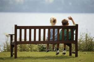 Make your own wooden bench for the garden and sit and enjoy the outdoors.