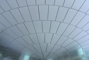 You can install suspended ceiling grids.