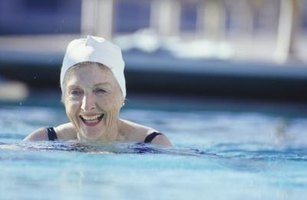 Swimming can get you in shape and lift your spirits at the same time.