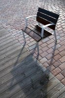 Brick pavers may be slippery when covered with frost or ice.