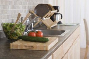 Coordinate a stylish backsplash with the soapstone countertop.