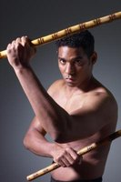Filipino martial art Kali teaches even beginners to use sticks.