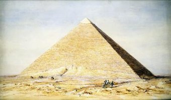 The pyramids of ancient Egypt are well known across the world.