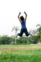 You need powerful legs to jump high regardless of weight.