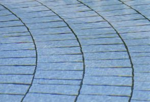 Paver bricks can be a cheap and cheerful way to change the look of your garden or yard.