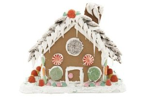 Make royal icing icicles for gingerbread houses.