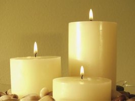 Candles are a no-fail lighting option for power outages.