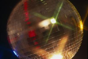 The glamor and glitz of the disco era are easy to reproduce for a cheap, authentic costume.