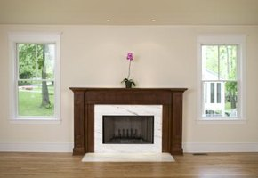 An unused fireplace limits your options for placing furniture in a room.