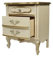 Provincial is one style of antique dresser.