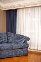 Drapes add style and elegance to a room.