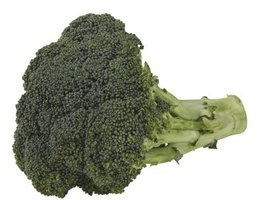 Bite-size broccoli florets take about five minutes to steam.