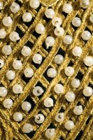 Beaded textiles can be difficult to sew, especially if the beads are linked.