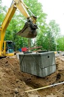 The septic tank distribution box can have its own problems and cause a backup.