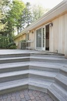 Diy Deck With Corner Stairs Ehow