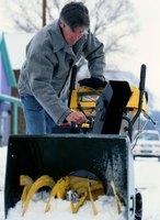 Keeping a snow blower well maintained can be a life saver in winter.