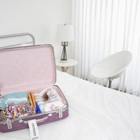 Although used mainly for transporting clothes during trips, suitcases have many other uses.