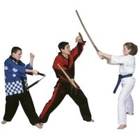 Make your own wooden katana for martial arts training.
