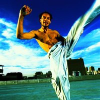 Capoeira is an art blending music, dance and the martial arts.