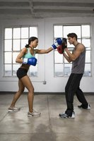 Boxing drills are physically demanding and help keep you in shape.