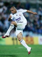 Brazil's Roberto Carlos was famous for wicked swerves on the ball.