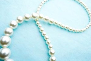 "Use pearls to evoke Hollywood glamour and play off the '40s hit ""String of Pearls."""