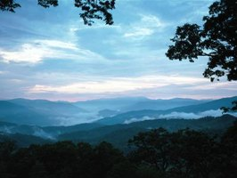 Great Smoky Mountains National Park's natural splendors include more than 10 major waterfalls.
