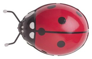 The simple but recognizable pattern of a lady bug makes it ideal for a children's craft project.