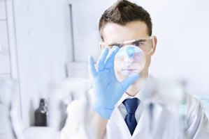 Image of a chemist in a laboratory.