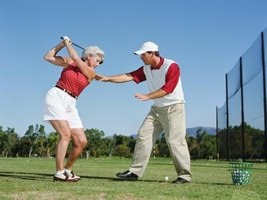 A swing plane trainer can help you develop a consistent golf swing.