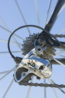 Derailleurs come in different sizes and gear numbers for varying ratios of torque.