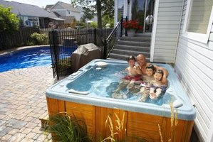 Regularly check the water level of your hot tub.