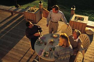 Keep your deck safe with bracing.