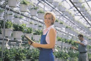 Greenhouses sometimes use artificial light to stimulate growth.