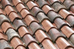 Use any leftover roofing material to create the roof for your porch.