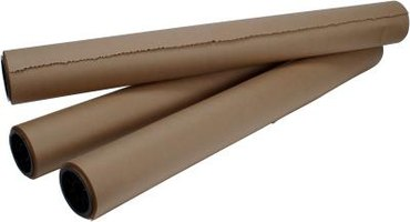 Butcher paper comes in a variety of widths.