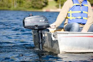 How to Clean the Marine Growth on an Outboard Engine