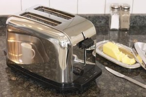 Periodically clean your toaster to remove bread and other food crumbs.