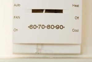 Your home's thermostat tells the furnace when to turn on and off.