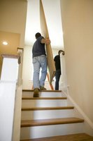 Transition pieces are necessary to make the edges of stair landings match stair edges.