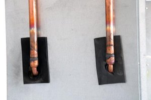 Type L copper tubing is often used as water line in houses.