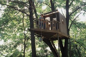 A tree house will become a gathering place for kids and their friends.