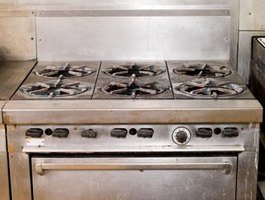 Turning on the gas oven knob starts a complex ignition process