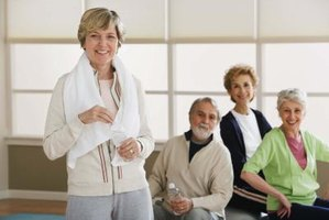 Seniors who keep active can reduce their risk of illness.