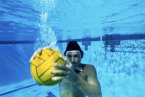 Water polo is very physically challenging.